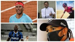 Nadal, Hamilton, Casillas, Froome, Lukaku... en el Festival dello Sport