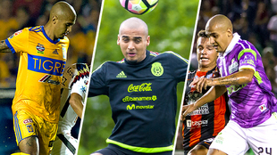 Chaka con Tigres, la selección mexicana y Jaguares de Chiapas.