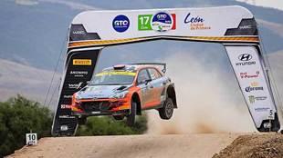 El Rally México Guanajuato si se llevó a cabo en el 2020.