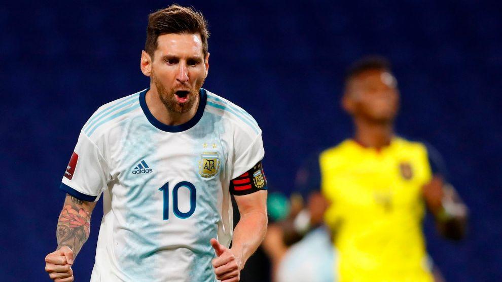 Eliminatorias Sudamericanas: Argentina-Ecuador: resumen, resultado y goles  del partido de clasificación para el Mundial 2022 | Marca.com
