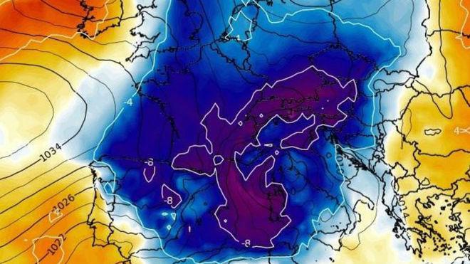 Llega la tercera nevada consecutiva otoñal con registros de hasta 25 cm