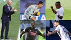 Zidane, Courtois, Vinícius, Mendy y Benzema