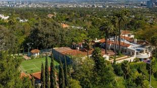 Vista aérea de la nueva casa de LeBron