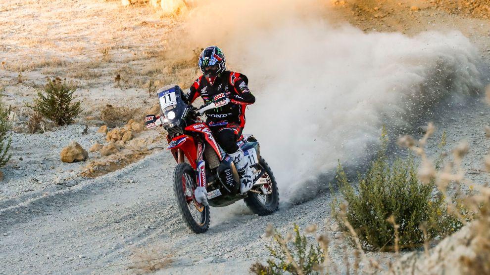 Joan Barreda (Honda) Andalucía Rally 2020.