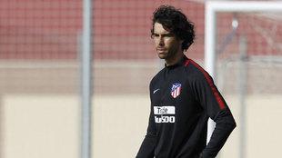 Tiago, en su etapa en el cuerpo técnico del Atlético de Madrid.