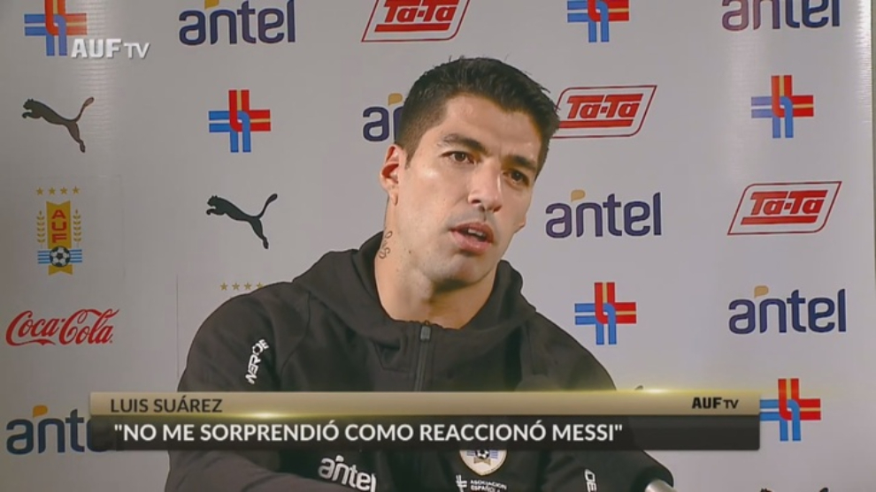 Atleticos Suarez on Barcelona departure It brought me to tears