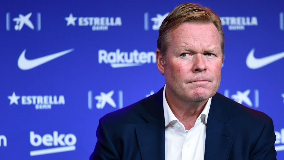 """Koeman: """"I'm happy with Barcelona's squad, we have to accept the economic situation"""""""
