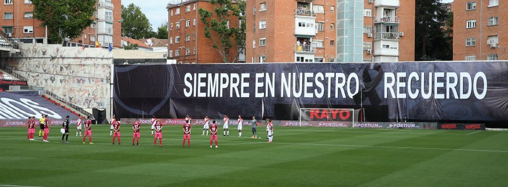 La reanudación del Rayo-Albacete fue el primer partido tras el...