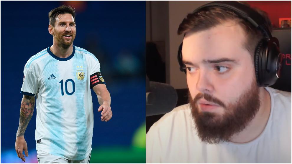 El mensaje de Ibai sobre el futbolista argentino ha dado la vuelta al...