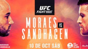 Moraes vs Sandhagen.