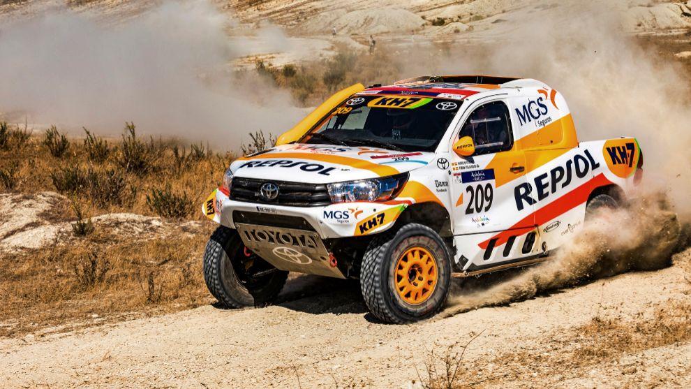 Isidre Esteve (Toyota) Andalucía Rally 2020