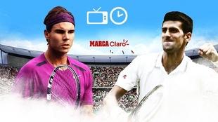 Rafael Nafal vs Novak Djokovic: Horario y dónde ver por TV en vivo.