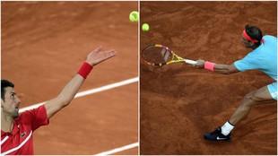 Djokovic y Nadal, cara a cara