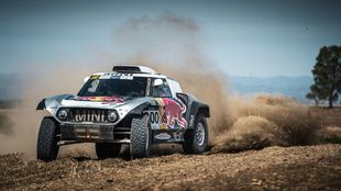 Carlos Sainz (Mini) Andalucía Rally 2020.