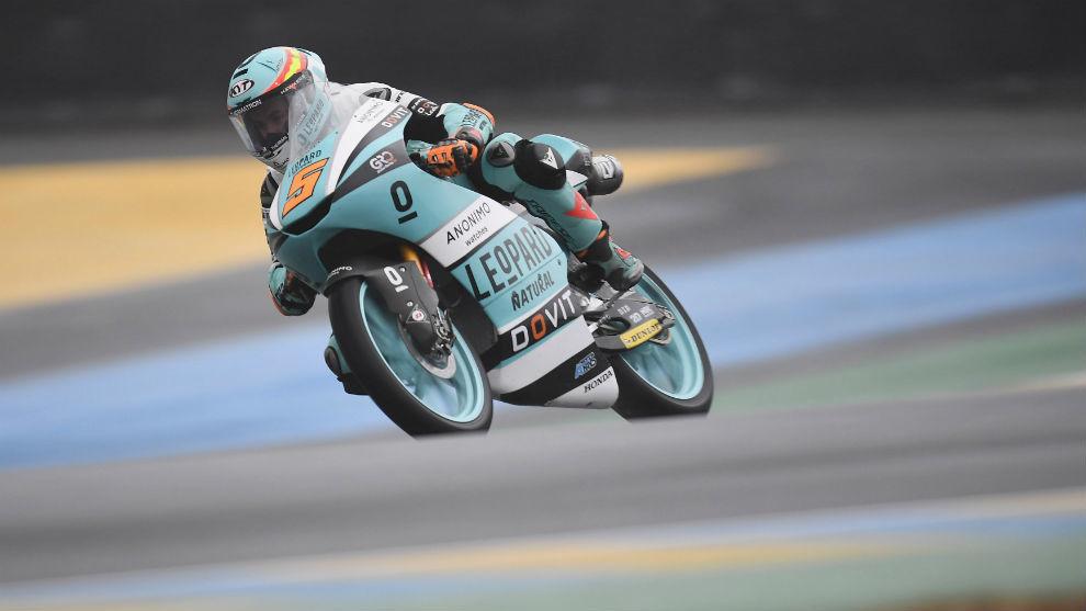 Jaume Masiá, en Le Mans.