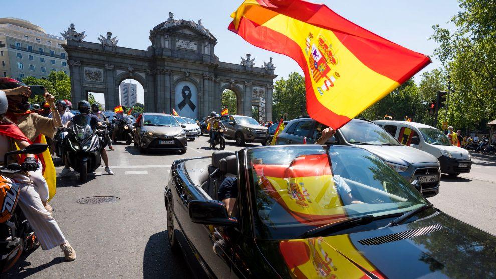 El 12 de octubre, convocada una nueva manifestación de coches.