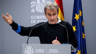 Fernando Simón, director del Centro de Coordinación de Alertas y...