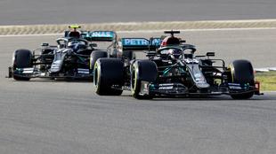 Valtteri Bottas se lleva la pole position del GP de Eifel.