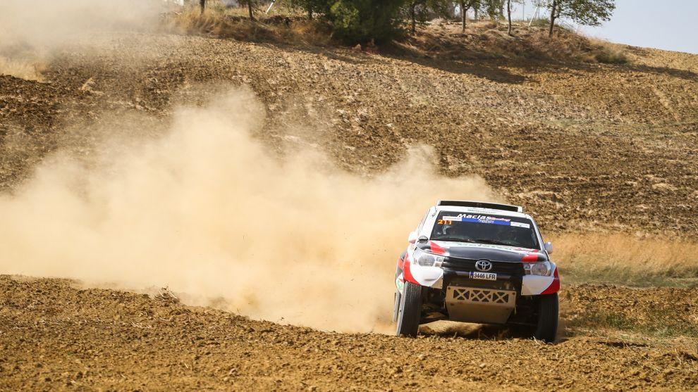 Félix Macías (Toyota) Andalucía Rally 2020.