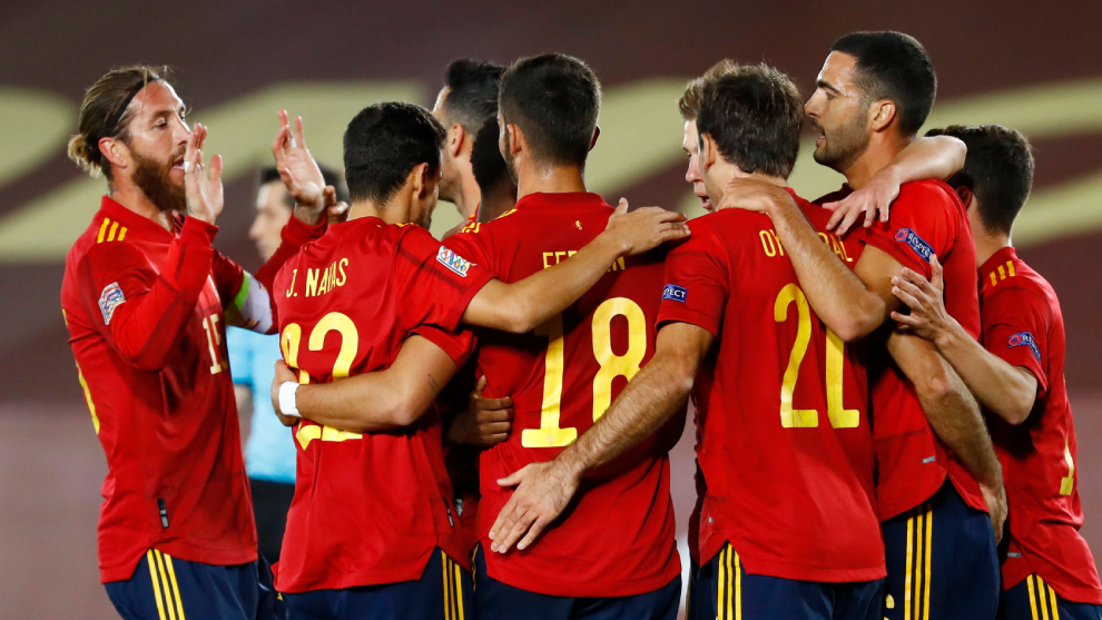 Spain vs Switzerland: Spain make the most of Swiss gift - UEFA Nations  League