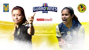 America Femenil vs Tigres Femenil hoy en vivo y en directo: Liga MX...