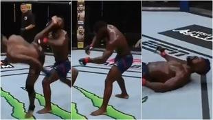 VIDEO: Nocaut en UFC Fight Island 5, Joaquin Buckley tira a Impa...