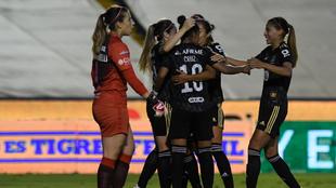 Tigres venció al América por la mínima en el Universitario de Nuevo...