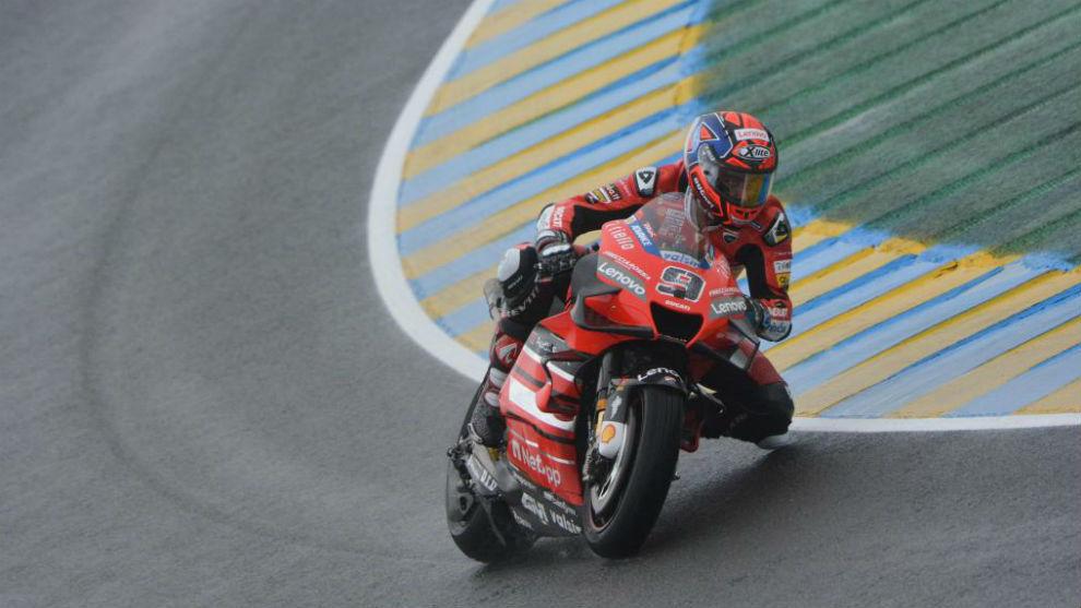 Petrucci, en Le Mans.