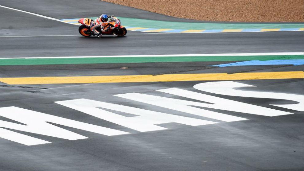 Álex Márquez, en Le Mans.