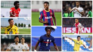 Los cracks del futbol mundial menores de 20 años