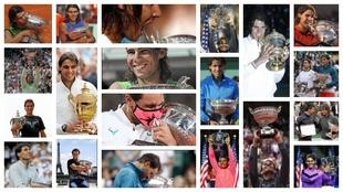 Los 20 'Grand Slam' de Rafa Nadal, uno a uno