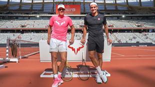 Roger Federer felicitó a Rafael Nadal por su título en Roland...