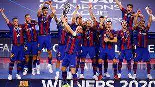 El Barça logra su tercera Champions ante un ElPozo sobresaliente