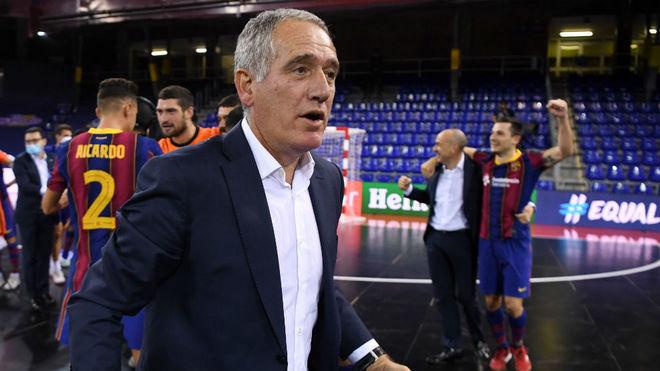 Andreu Plaza, tras lograr el título.