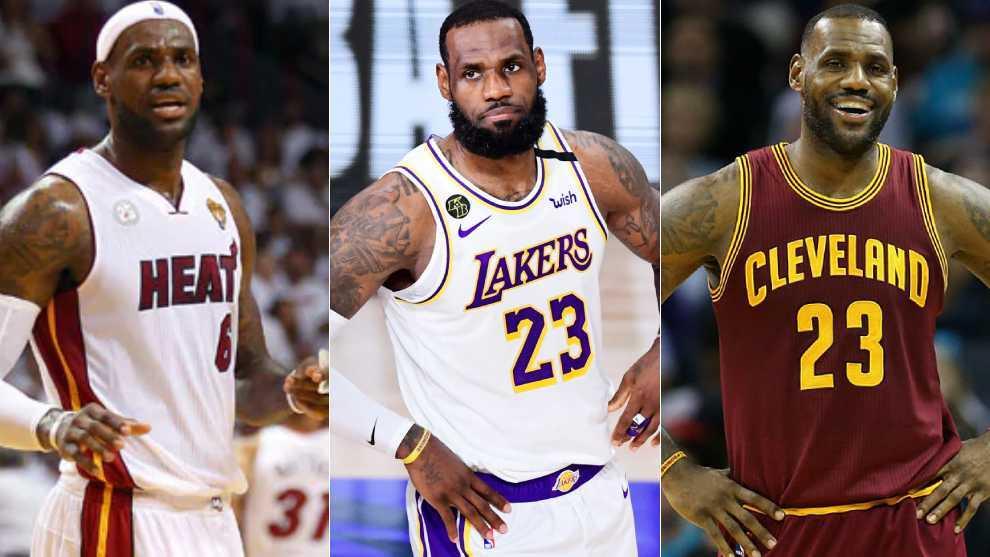 LeBron entra en el nuevo 'Big Three' de la NBA