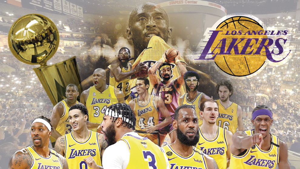 LeBron James leads the Lakers to the NBA championship ...