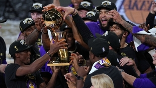 LeBron James, campeón de la NBA con los Lakers