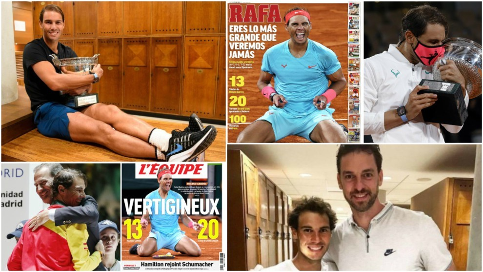 Rafael Nadal feared 2020 French Open title would be beyond him