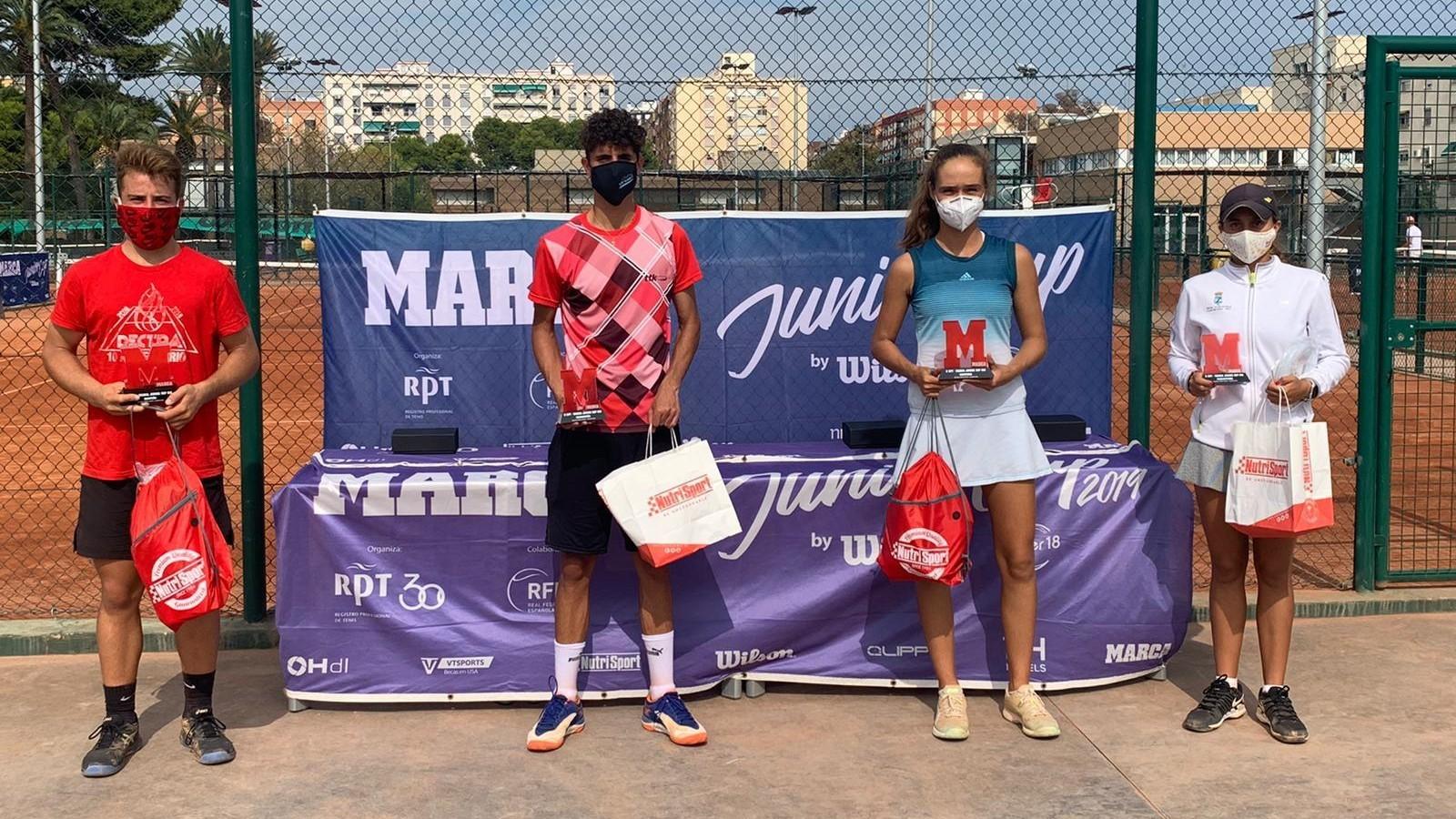 Daniel Torres y Marta García ganan la MARCA Junior Cup del Valencia...