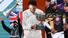 Hamilton, Nadal y LeBron