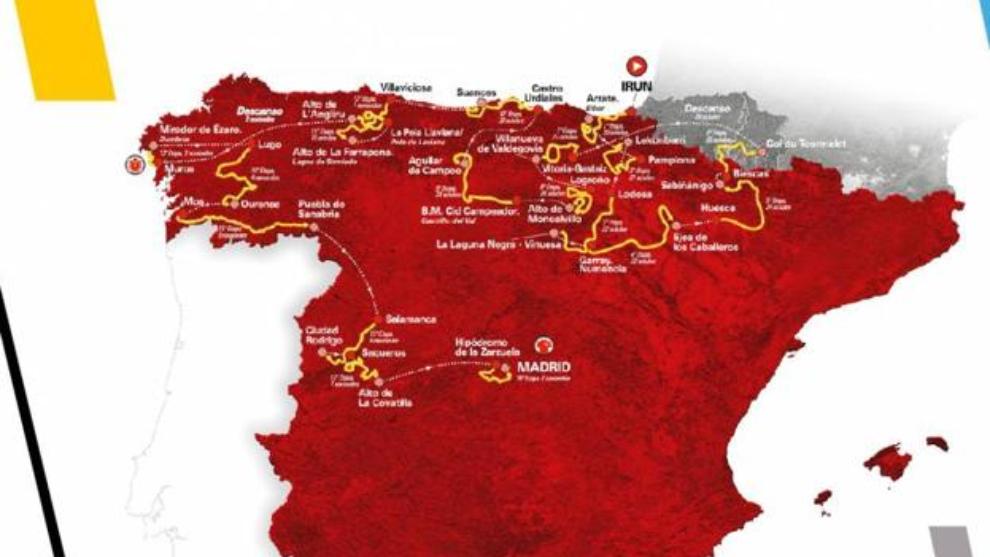 Vuelta a España 2020: etapas, recorrido, perfil y etapas reinas.