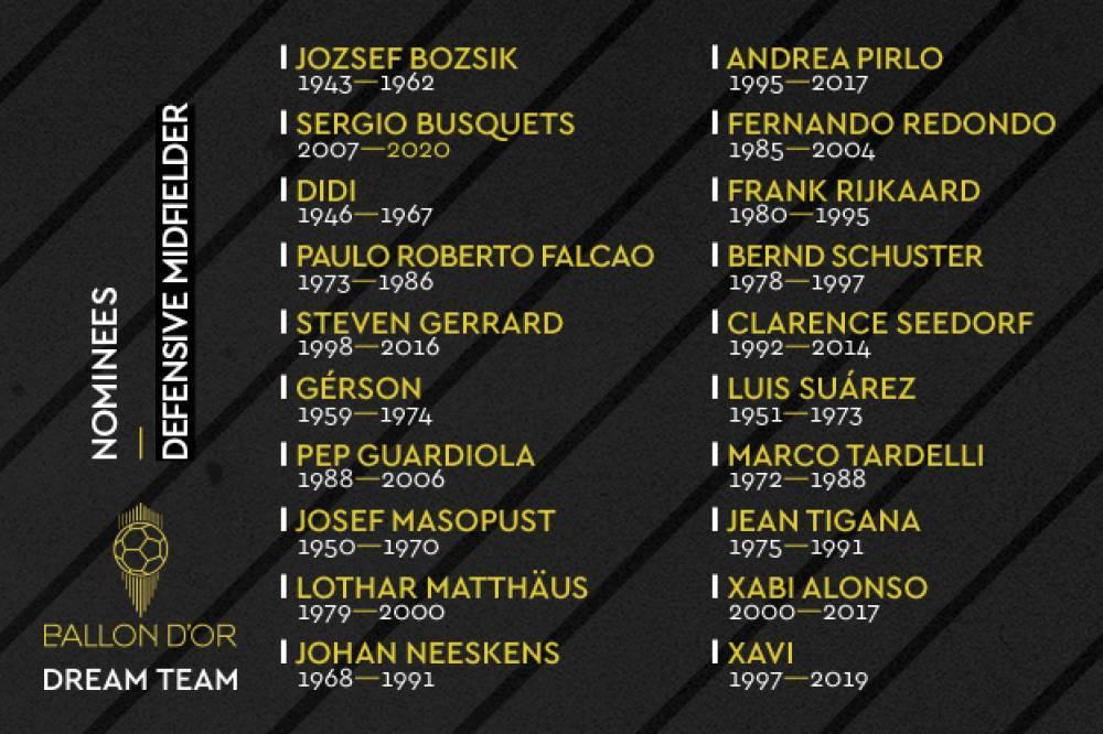 Hasta seis españoles entre los candidatos a mediocentro en el 'Dream Team' de France Football