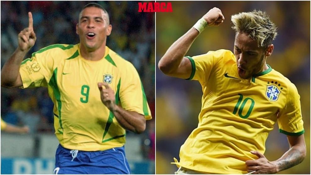 Neymar, a un paso de 'O Fenomeno'