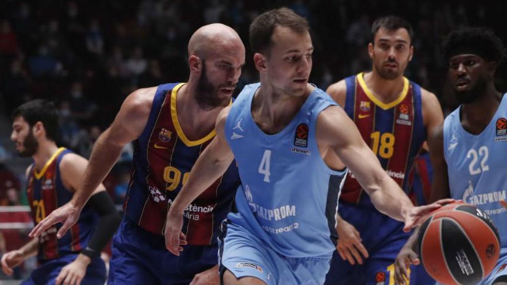 La Euroliga suspende los partidos del Zenit ante Baskonia y Valencia