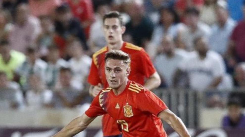"""Dani Gómez: """"Me gustaría jugar en la Premier League"""""""