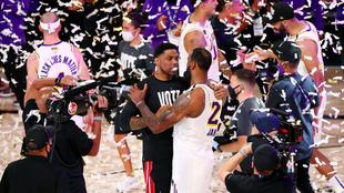 Los Lakers se coronaron en la Burbuja de Orlando.