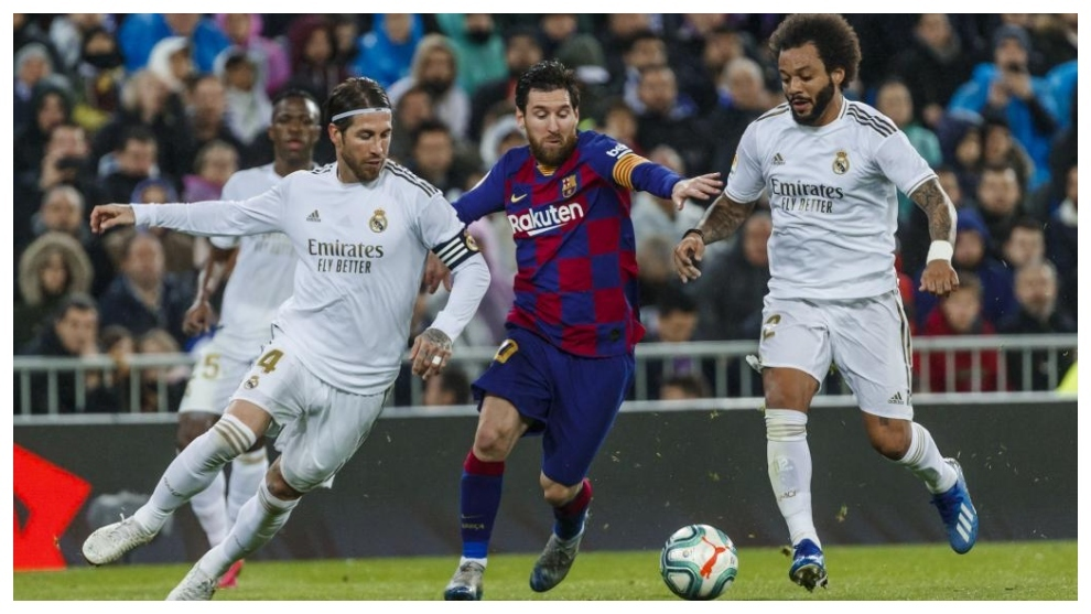 Ramos, Messi and Marcelo.