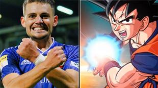 Goku Román (antes Joan Román) y Son Goku de Bola de Dragón