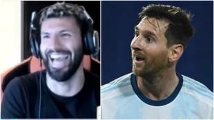 """El 'matrimonio desgastado' Agüero-Messi: """"Leo es un quejón"""""""