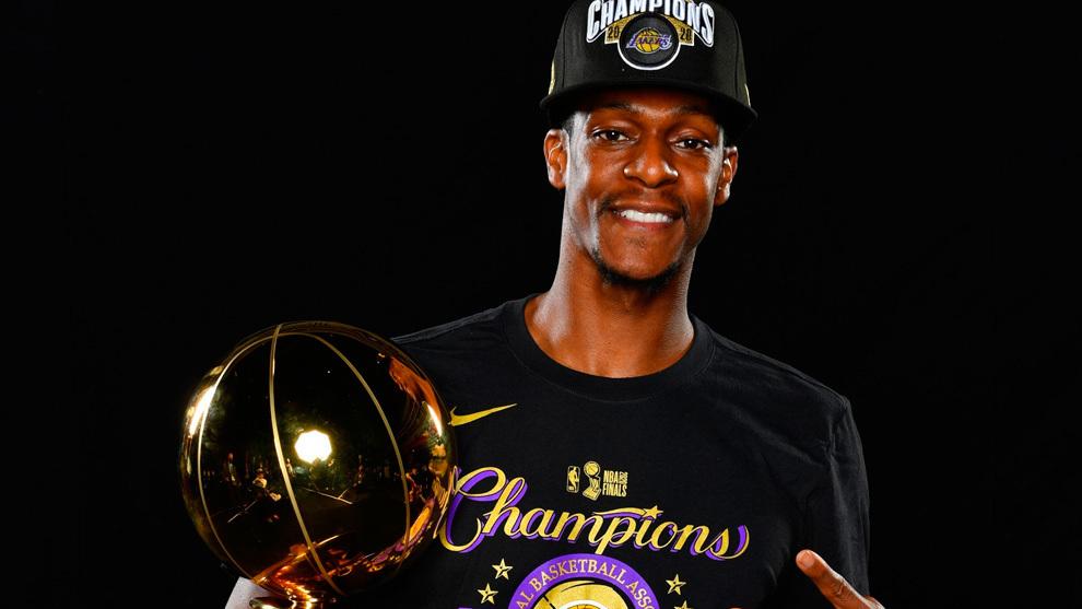 Rajon Rondo rompe el molde 58 años después: campeón con Lakers y Celtics
